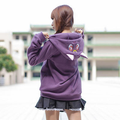 Luna and Artemis Sailor Moon Hoodie Sweater SD00051 - SYNDROME - Cute Kawaii Harajuku Street Fashion Store