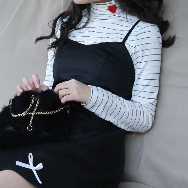 Love Turtleneck Shirt SD02022 - SYNDROME - Cute Kawaii Harajuku Street Fashion Store