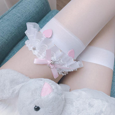 Studs Lace Leg Garter SD01917 - SYNDROME - Cute Kawaii Harajuku Street Fashion Store
