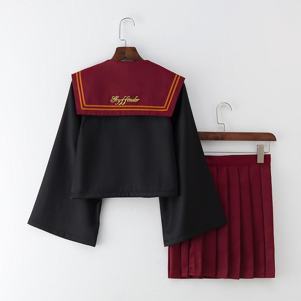 Harry Potter Gryffindor and Slytherin Japanese School Uniform SD01315 - SYNDROME - Cute Kawaii Harajuku Street Fashion Store