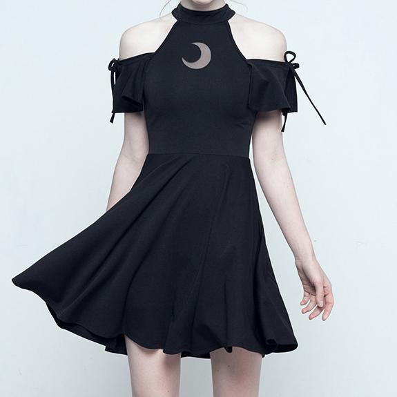 Dark Moon Dress SD01792 - SYNDROME - Cute Kawaii Harajuku Street Fashion Store