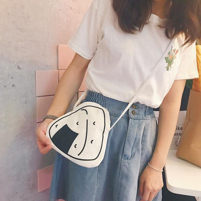 Onigiri Shoulder Bag SD02182 - SYNDROME - Cute Kawaii Harajuku Street Fashion Store