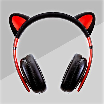 Censi Kitty Cat Headphones SD01417 - SYNDROME - Cute Kawaii Harajuku Street Fashion Store