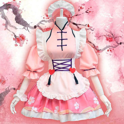 Cherry Blossom Maid Dress SD00085 - SYNDROME - Cute Kawaii Harajuku Street Fashion Store