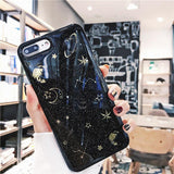 Galaxy Glitter Planet Phone Case SD00815 - SYNDROME - Cute Kawaii Harajuku Street Fashion Store