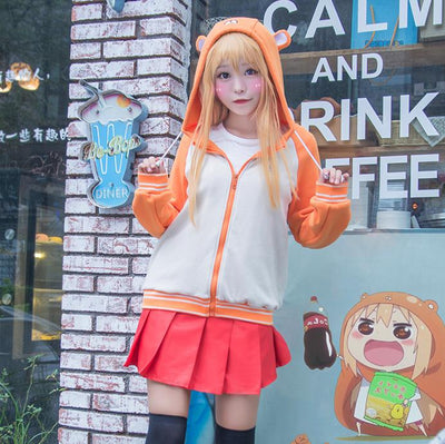 Himouto! Umaru-Chan Zipper Hoodie Sweater SD00737 - SYNDROME - Cute Kawaii Harajuku Street Fashion Store