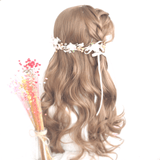 Honey Pudding Brown Wave Long Wig SD00207 - SYNDROME - Cute Kawaii Harajuku Street Fashion Store