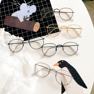 Fake Round Glasses SD01651 - SYNDROME - Cute Kawaii Harajuku Street Fashion Store