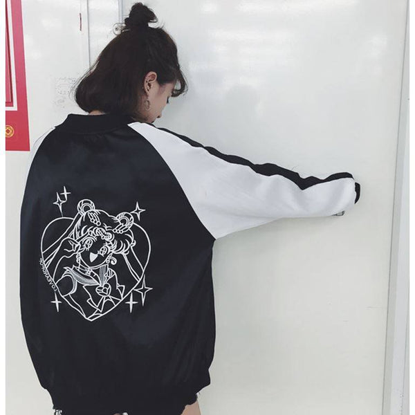 Japanese Anime Sailor Moon Jacket SD01039 - SYNDROME - Cute Kawaii Harajuku Street Fashion Store