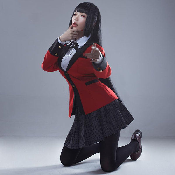 Kakegurui Yumeko Jabami School Uniform SD00827