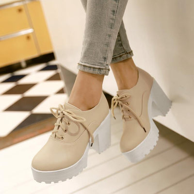 Casual Platform High-Heel Shoes SD00190 - SYNDROME - Cute Kawaii Harajuku Street Fashion Store