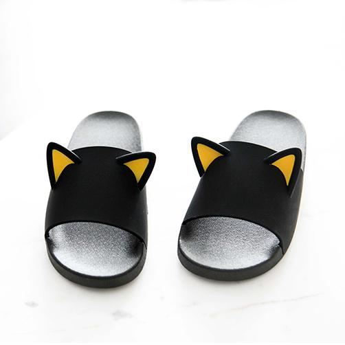 Cat Ears Slippers SD01076 - SYNDROME - Cute Kawaii Harajuku Street Fashion Store