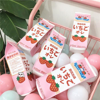 Strawberry Drink Pencil Bag SD00894 - SYNDROME - Cute Kawaii Harajuku Street Fashion Store