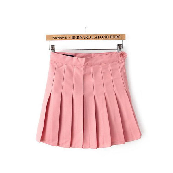High-Waist Pleated Skirt SD00800