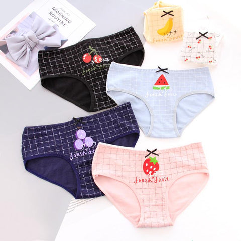 Delicious Kawaii Fruit Underwear SD00089 - SYNDROME - Cute Kawaii Harajuku Street Fashion Store