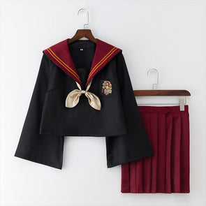 Harry Potter Gryffindor and Slytherin Japanese School Uniform SD01315
