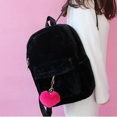 Plush Fluffy Backpack SD00715 - SYNDROME - Cute Kawaii Harajuku Street Fashion Store