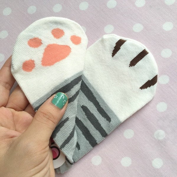 Cat Paws Socks SD00881 - SYNDROME - Cute Kawaii Harajuku Street Fashion Store