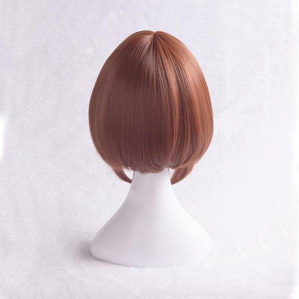 My Hero Academia Ochaco Uraraka Brown Short Wig SD01597