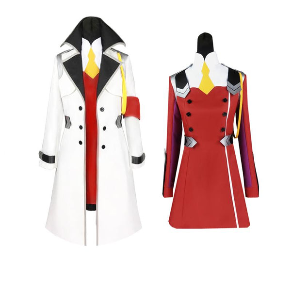 Darling In The Franxx Code:002 Zero Two Cosplay SD01521 - SYNDROME - Cute Kawaii Harajuku Street Fashion Store