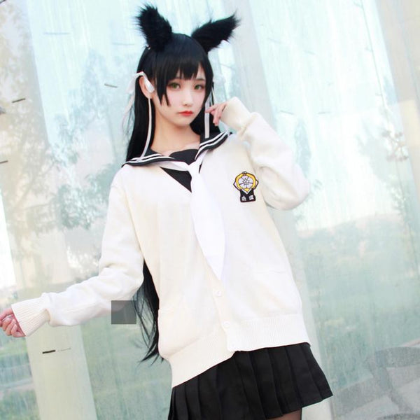 Azur Lane Atago Takao School Uniform Cosplay SD00753 - SYNDROME - Cute Kawaii Harajuku Street Fashion Store