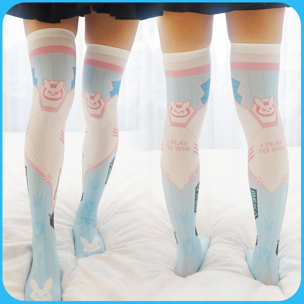 D.VA High Tights Socks SD00952 - SYNDROME - Cute Kawaii Harajuku Street Fashion Store