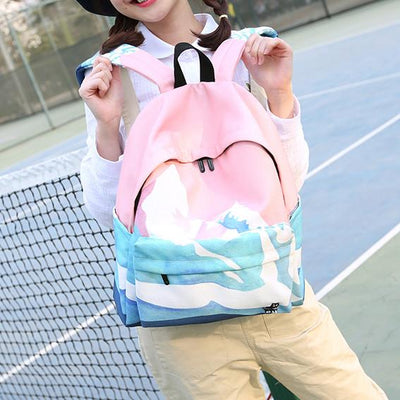 Snow Mountain Backpack SD00879 - SYNDROME - Cute Kawaii Harajuku Street Fashion Store