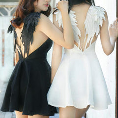 Harajuku Angel Devil Wings Sexy Couple Dress SD02344