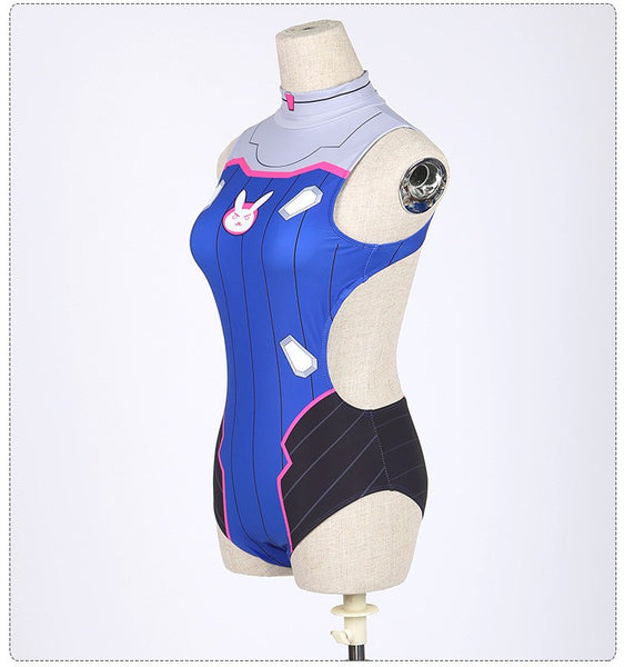 Overwatch Battle D.VA Swimsuit  SD01231 - SYNDROME - Cute Kawaii Harajuku Street Fashion Store