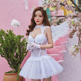 Angel Lace Corset Lingerie SD00320 - SYNDROME - Cute Kawaii Harajuku Street Fashion Store