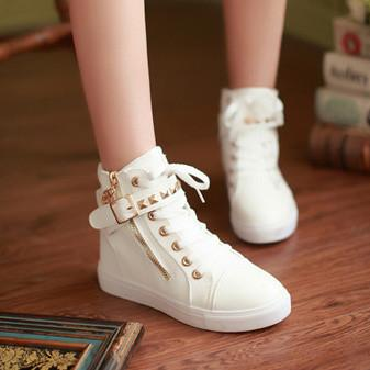 Snow White Punk Sneakers Shoes SD02310 - SYNDROME - Cute Kawaii Harajuku Street Fashion Store