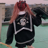 Skeleton Sailor School Sweater SD00291