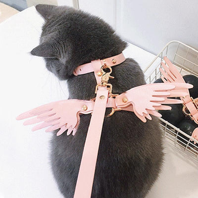 Angel Wings Strap Pet Leash SD00272 - SYNDROME - Cute Kawaii Harajuku Street Fashion Store