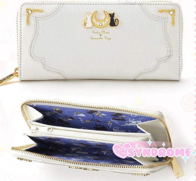 Sailor Moon Luna & Artemis Purse SD00581