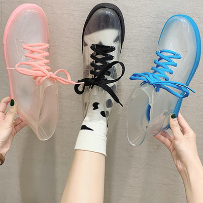 Candy Color Transparent Rain Boots SD01639 - SYNDROME - Cute Kawaii Harajuku Street Fashion Store
