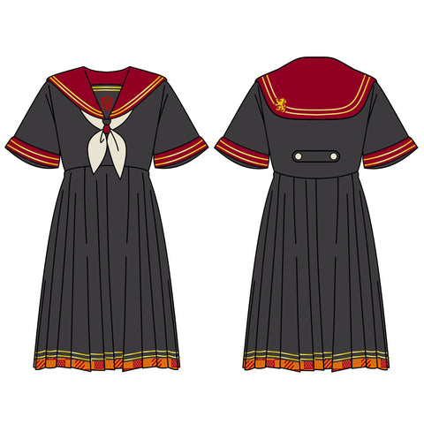 Copy of Pre-Order Gryffindor/Slytherin/Hufflepuff/Ravenclaw School Uniform SD01000 - SYNDROME - Cute Kawaii Harajuku Street Fashion Store