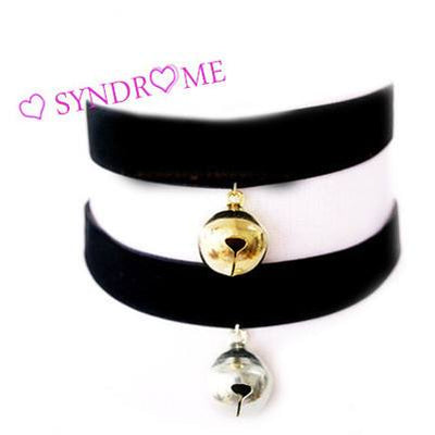 Harajuku Bell Choker SD00062 - SYNDROME - Cute Kawaii Harajuku Street Fashion Store