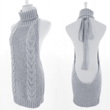 Virgin Killer Sweater Dress SD00767 - SYNDROME - Cute Kawaii Harajuku Street Fashion Store