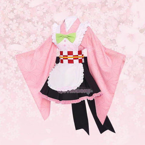 Pre-order Demon Slayer Maid Cosplay SD01292 - SYNDROME - Cute Kawaii Harajuku Street Fashion Store