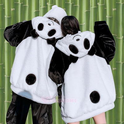 Panda Cow Two Sided Coat SD01582 - SYNDROME - Cute Kawaii Harajuku Street Fashion Store