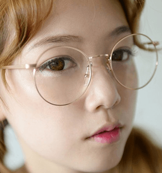 Kawaii College Circle Glasses SD00084