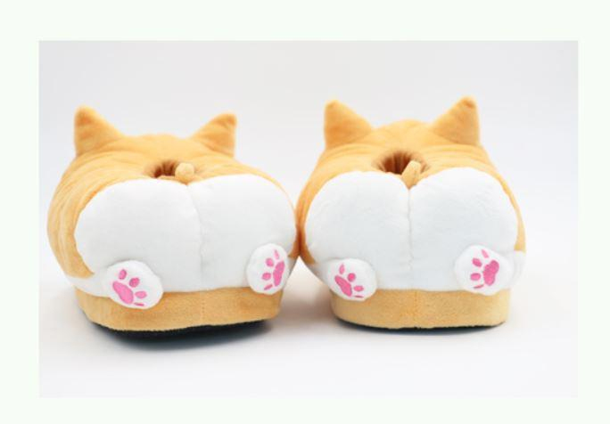 Pre-Order Japanese Kawaii Shiba Inu Doge Warm Slipper Shoes SD01170