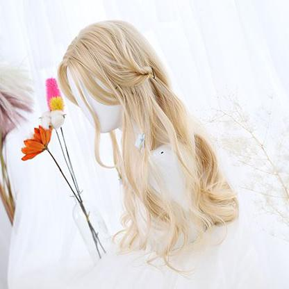 Blonde Curly Wig SD00977 - SYNDROME - Cute Kawaii Harajuku Street Fashion Store