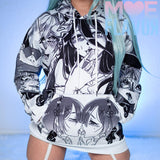 Ahegao Unisex Ultimate Waifu Hoodie Sweater MF00394 - SYNDROME - Cute Kawaii Harajuku Street Fashion Store