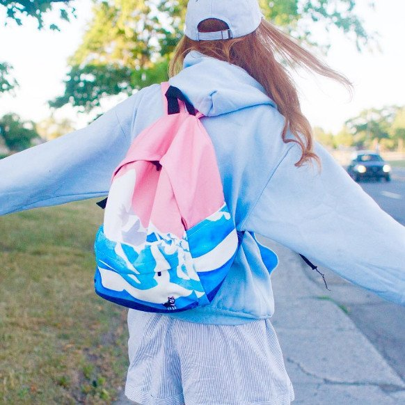 Cute Snow Mountain Backpack SD00879 - SYNDROME - Cute Kawaii Harajuku Street Fashion Store