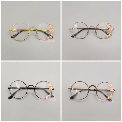 Sakura Frame Glassses SD00997 - SYNDROME - Cute Kawaii Harajuku Street Fashion Store