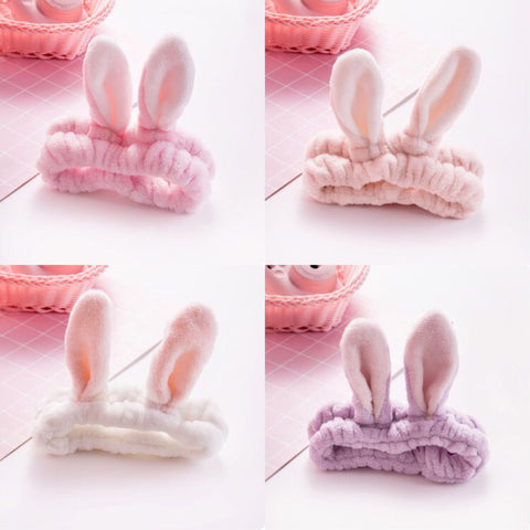 SALE Bunny Ears Make-Up Headband SD00389 - SYNDROME - Cute Kawaii Harajuku Street Fashion Store