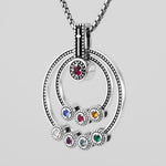 "GRANDMOTHERS ""FAITH"" BIRTHSTONE NECKLACE"