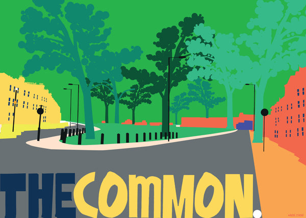 A3 'The Common' Art Print.