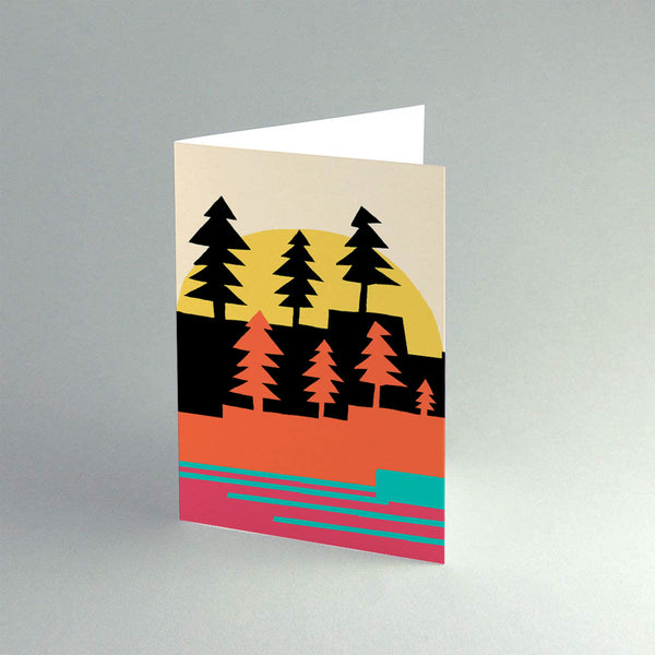 A5 'Winter Forest' Card